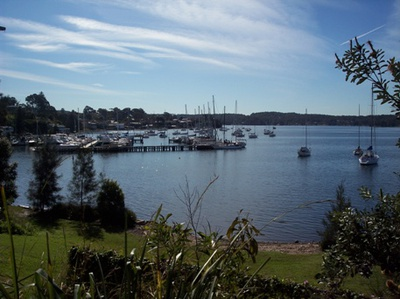 A view of beautiful Lake Macquarie at Toronto.