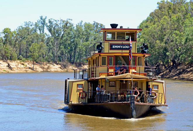 Victoria Melbourne Echuca PS Emmylou Brown Brothers Wines Travel Food & Wine Murray River Cruise Escape The City Get out Of Town