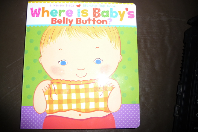 Where's Baby's Belly Button?, books for toddlers, board books, flap books