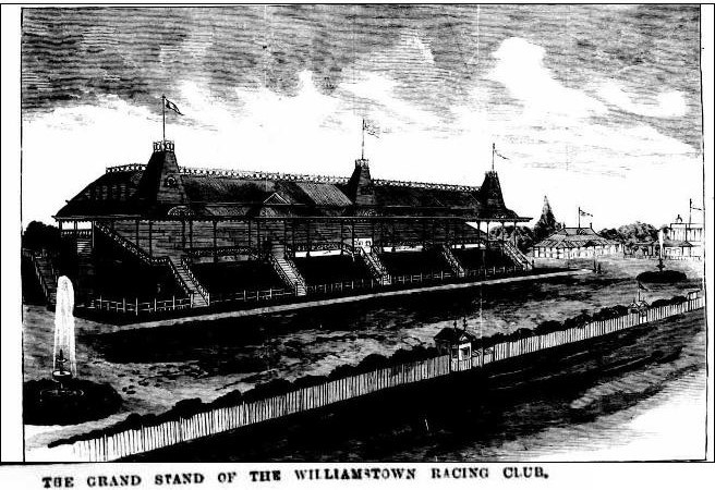 Williamstown Racecourse, Grandstand