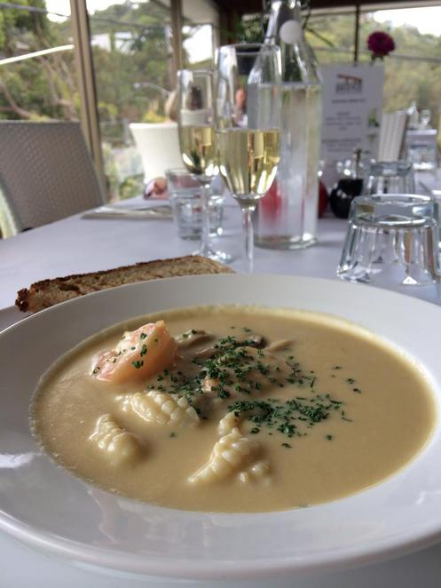 woronora, the bridge, restaurant, the shire, river, seafood, chowder, sourdough, lunch