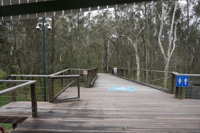 Boardwalk near Environment Centre