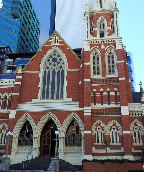 Brisbane open house, open, house, historic, albert st uniting church, may cross