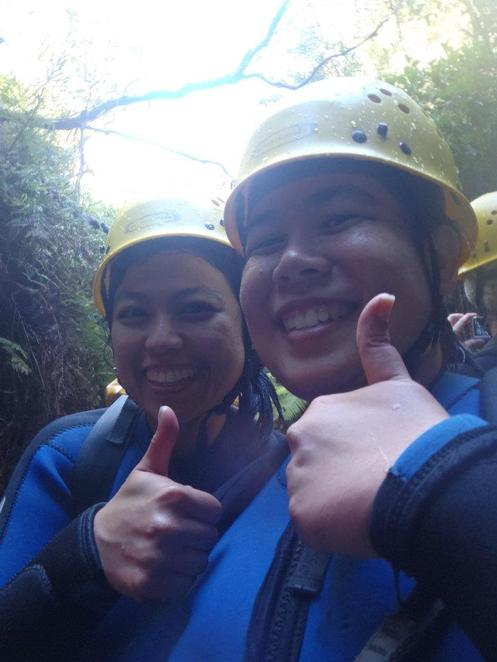 canyoning high and wild blue mountain katoomba