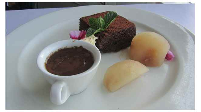 chocolate, flourless chocolate cake, dessert
