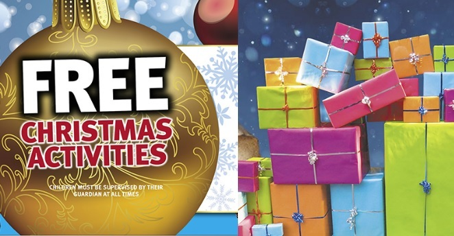 christmas, free, activities, kids, craft, santa, families, fun, shopping centre