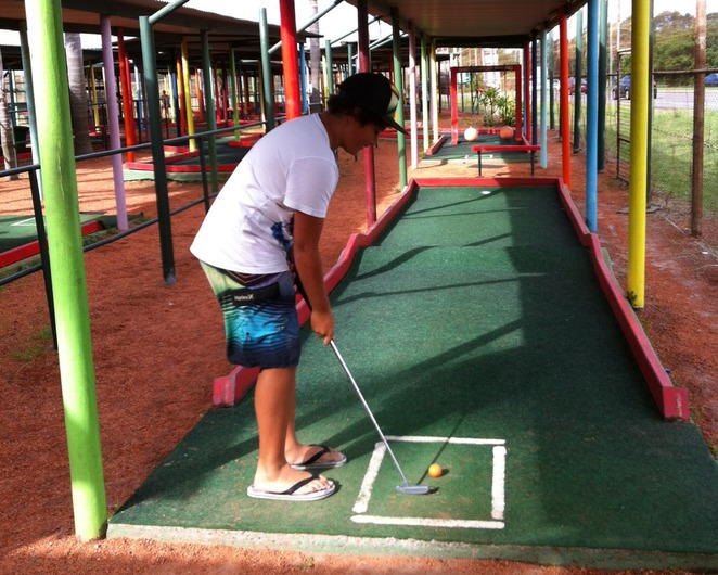 David Graham Golf Complex, Mini Golf, Putt Putt, Shoal Bay, Port Stephens, Nelson Bay