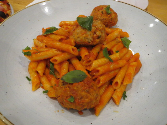 Denari Cafe and Dessert Bar, Polpette Pasta, Adelaide