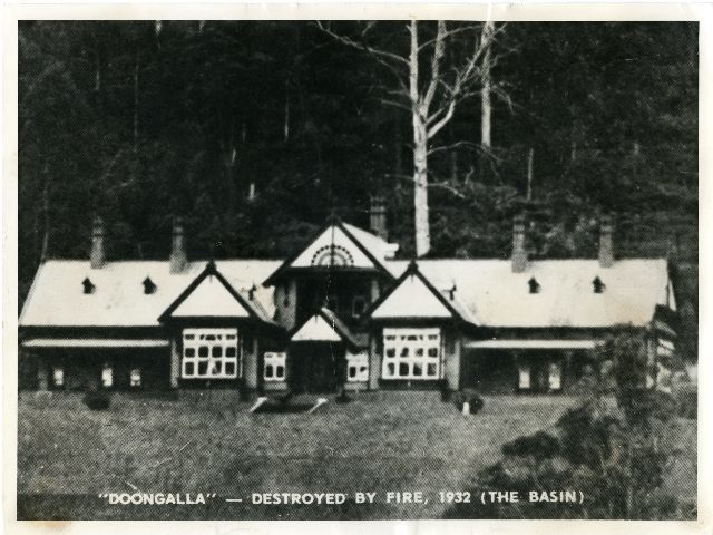 Doongalla, The Basin, Park, Old