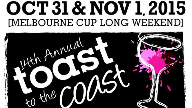 Toast to the Coast logo