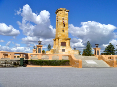 Fremantle, Monument Hill, Memorial, Royal, Australian, Navy