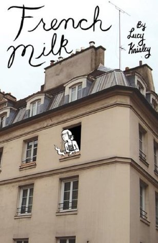 French Milk,Lucy Knisley, graphic novels, great graphic novels, books for women, graphic novels for women, great reads