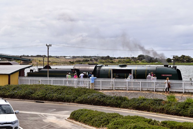 Goolwa Wharf Markets, Cockle Train