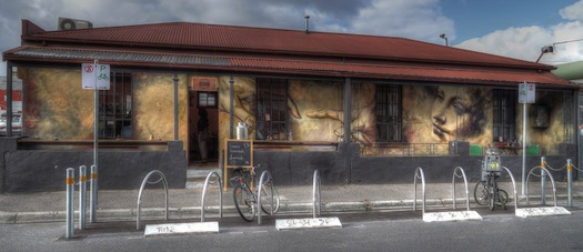 Grace Cafe, rose street, fitzroy