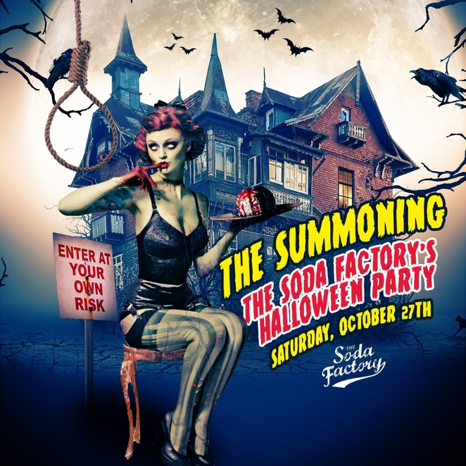Halloween, Nightlife, Bars, Food & Drink, Parties, Surry Hills, The Soda Factory