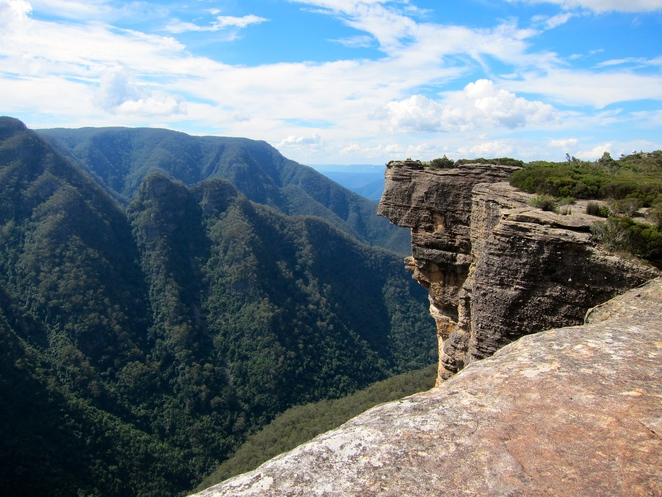 Kanangra Wall, walks and canyons, Blue Mountains, NSW, Australia