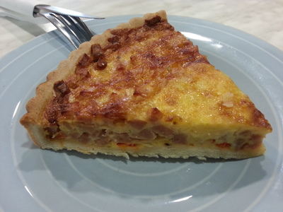 Quiche Lorraine from King of Sandwich