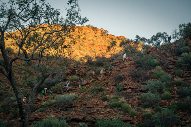 The beginning of the Rim Walk, Kings Canyon