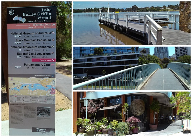 lake burley griffin circuit, western loop, bike riding, walking, new acton precinct, newacton, canberra, ACT,