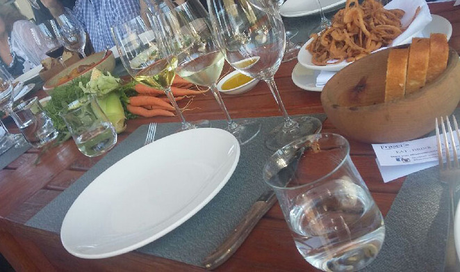lunch, wine, food, frasers, perth, fine