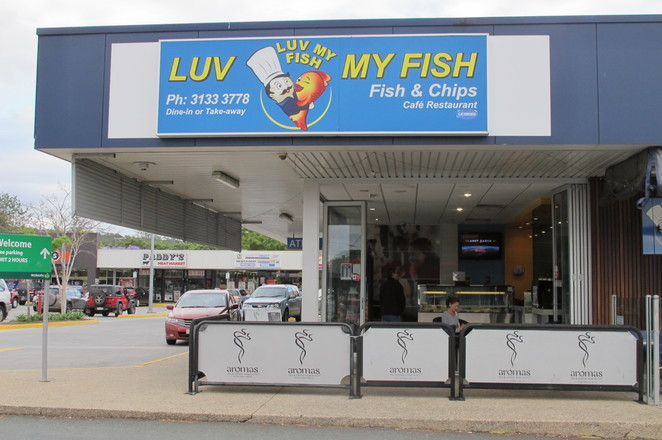 Luv My Fish, fish and chips shop, Browns Plains, Logan, Park Ridge, fish, chips, family restaurant, BYO restaurant
