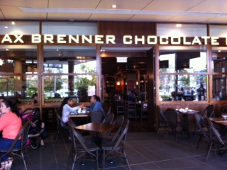 Max Brenner, chocolate, shop