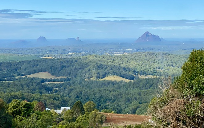 McCarthy's Lookout provides visitors with views across the Glasshouse Mountains