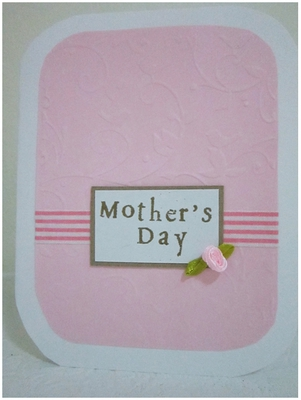 Mother's Day, Gift Idea, Mothers Day Gift Idea, DIY card, DIY, Mother's Day Card