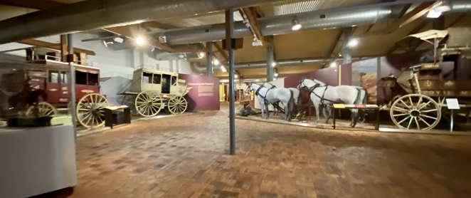 The National Carriage Collection at Cobb n Co Museum Toowoomba