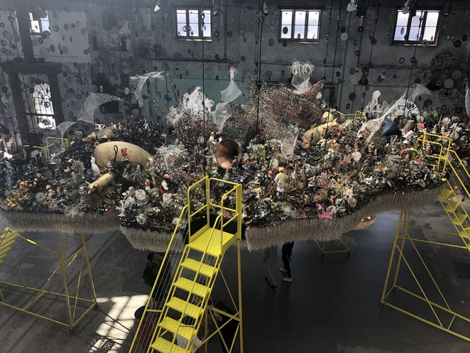 Nick Cave Until Carriageworks Exhibition installations