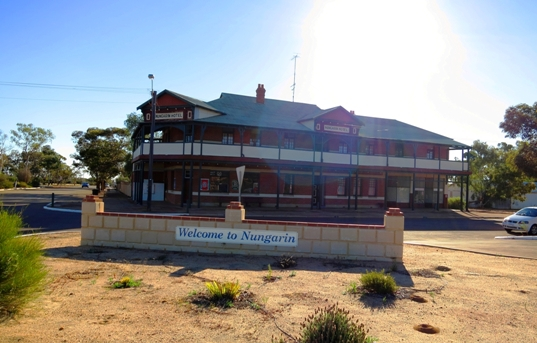 Nungarin Hotel is a classic Australian country hotel