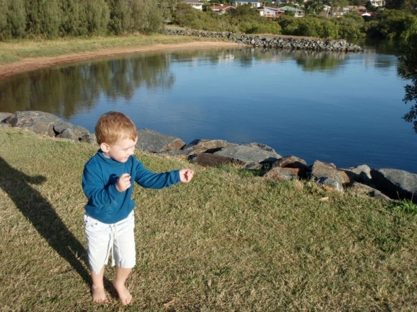Raby Bay Esplanade Park is a great place for families