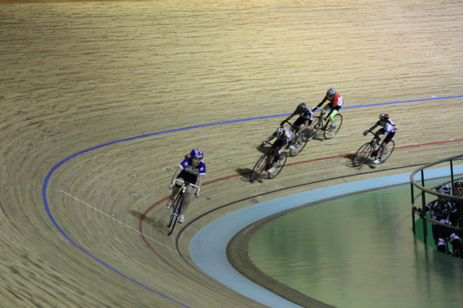 Points Race Track Cycling