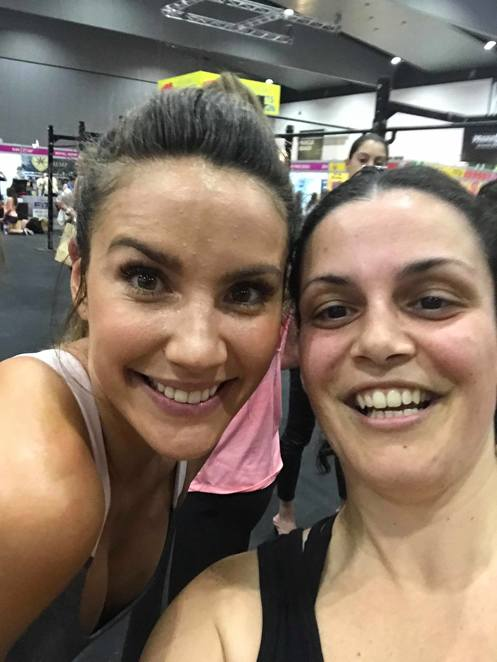 Rachael Finch Melbourne Fitness Show