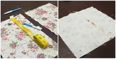 sew make create, sewing course, beginner, cushion cover