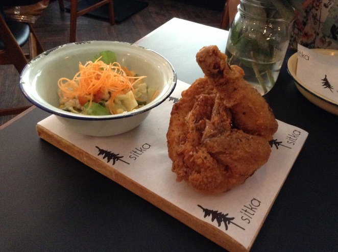 sitka restaurant fried chicken