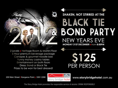 Story Bridge Hotel, New Years Eve
