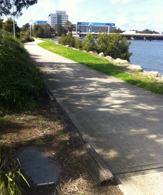 tempe reserve cycle path