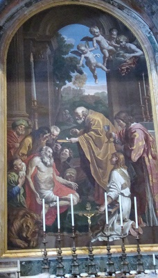 The Altar of St Jerome