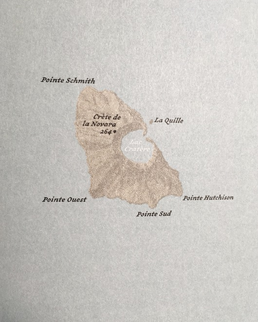 The Atlas of Remote Islands by Judith Schalansky, Atlas, Map, cartography, Judith Schalansky, Saint Paul Island