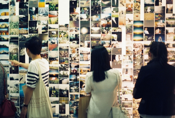 The Colour Box Studio Disposable Camera Project: Second Edition Exhibition 2013. Image by Kristina Arnott