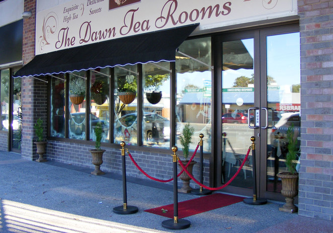 The Dawn Tea Rooms Brisbane