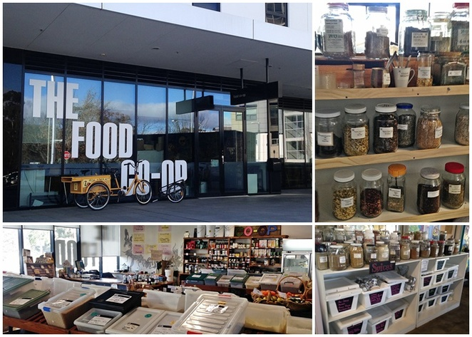 the food co op, canberra, ACT, organic, fruit, vegetables, bulk, bulk produce, cleaning, cafe, vegan, canberra city, ANU,