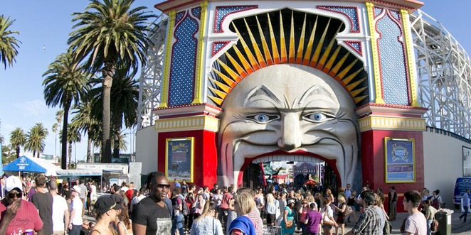The St Kilda Festival is great for kids of all ages.
