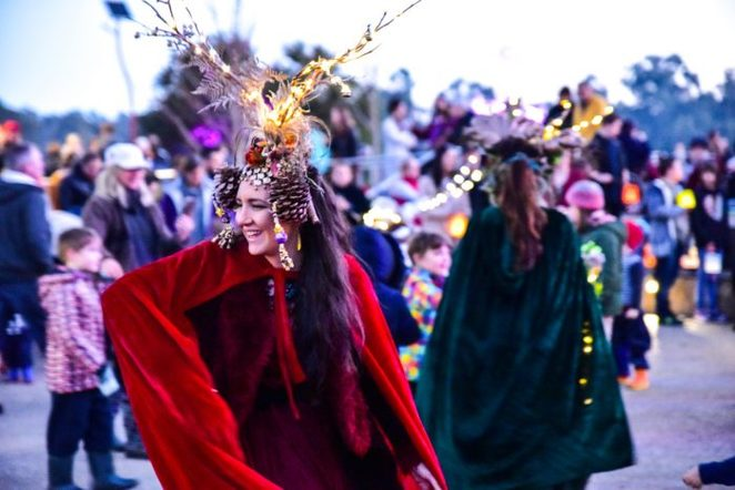 The Winter Solstice Festival at Edendale Farm