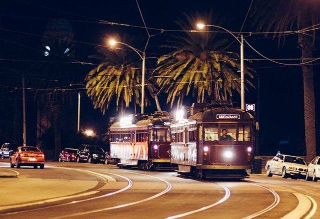 The,Tramcar,Xmas,in,July