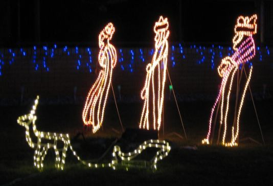 Toowoomba 2017 Christmas Lights South St Wise Men