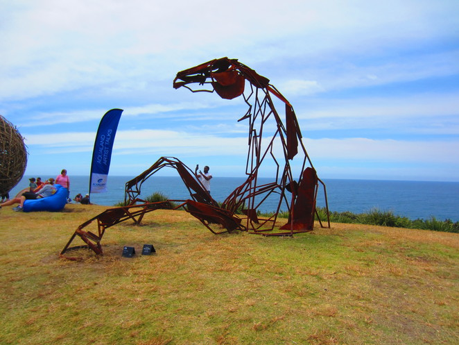 Transition Harrie Fasher Sculpture by the Sea 2016