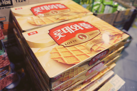 waffles, lotte, sweet, snack, biscuit