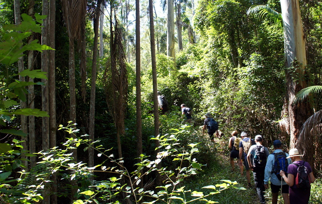 The side paths are often narrow, steep, but worth walking